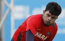 Former India test bowler Shanthakumaran Sreesanth. Picture: AFP