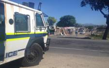 FILE IMAGE: A few Mayibuye residents took to the streets this morning to demand houses. Picture: Siyabonga Sesant/EWN