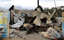 A Western Cape councillor's house was petrol bombed on Friday evening amid allegations of theft of building materials which were intended for use of a nearby housing project. Picture: Anthony Molyneaux/EWN