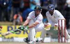 FILE: South Africa cricketer AB de Villiers (L). Picture: AFP.