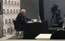Former Bosasa executive Angelo Agrizzi gives testimony at the commission of inquiry into state capture on 21 January 2019. Picture: EWN