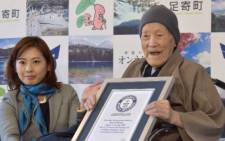 113-year-old Japanese man, Masazo Nonaka, recognised as the world's oldest man, has died. Picture: CNN