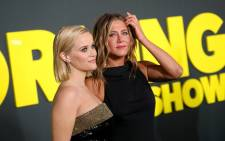 "Reese Witherspoon (L) and Jennifer Aniston attend Apple's global premiere of ""The Morning Show"" at Josie Robertson Plaza and David Geffen Hall, Lincoln Center for the Performing Arts on 28 October 2019 in New York City. Picture: AFP"