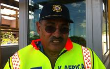 Western Cape Traffic Chief Kenny Africa. Picture: Rafiq Wagiet/EWN.