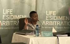 Moelo Mofokeng's sister Maggie is one of the psychiatric patients who survived the Esidimeni tragedy. Picture: Masego Rahlaga/EWN