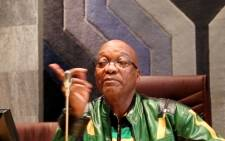 President Jacob Zuma was locked in a meeting with religious and faith-based groups in Madibeng, North West, failing to make it to other arrangements in the province. 29 April 2014. Picture: Sebabatso Mosamo/EWN.