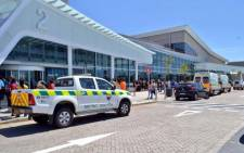 Five people were  taken to hospital following an explosion at the Blue Route Mall in Retreat in Cape Town. Picture: Supplied.