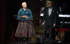 FILE. Bill Cosby and his wife Camille Cosby. Picture: Bryan Bedder/Getty Images North America/AFP.