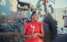 Thuso Mbedu was named the Breakout Star at the Hollywood Critics Association TV Awards for her role as Cora on 'The Underground Railroad'. Picture: @ThusoMbedu/Twitter.