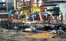 FILE: Sources say a female bomber blew herself up at a petrol station in northern Nigeria on Monday. Picture: AFP.