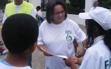 Cape Town's Mayor Patricia de Lille