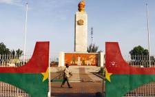 The Place de la Nation in Ouagadougou, Burkina Faso, the scene of mass protests in early November 2014, which led to the resignation of President Blaise Compaore. Picture: EPA.