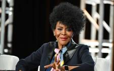 """FILE: Cicely Tyson of """"Cherish the Day"""" speaks during the OWN: Oprah Winfrey Network segment of the 2020 Winter TCA Press Tour at The Langham Huntington, Pasadena on 16 January 2020 in Pasadena, California. Picture: Amy Sussman/AFP"""