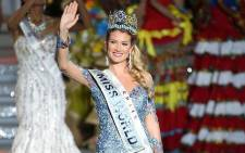 Miss Spain, Mireia Lalaguna Royo, was crowned Miss World 2015 in China on 19 December 2015. Picture: @MissWorldTime
