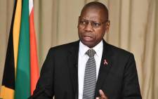 FILE: Health Minister Zweli Mkhize. Picture: @DrZweliMkhize/Twitter.