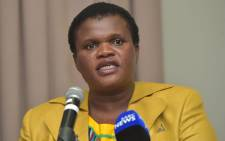 FILE: Faith Muthambi. Picture: GCIS.