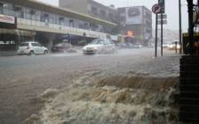 FILE PICTURE: heavy rains continues across the Mother City