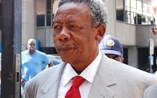Former police chief Jackie Selebi.