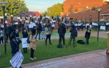 FILE: Pupils staged peaceful protests on 31 May 2021 demanding change at Cornwall Hill College. Picture: Gauteng Department of Education