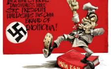 Wits SRC President Mcebo Dlamini expresses his admiration for Adolf Hitler.