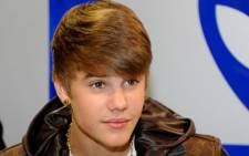 Canadian pop star Justin Bieber. Picture: AFP.