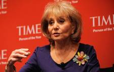 TV personality Barbara Walters. Picture: AFP