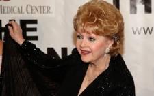 Actress Debbie Reynolds. Picture: AFP