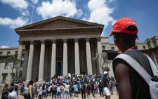 FILE: Wits University SRC leaders disrupted classes, calling on other students to demonstrate with them as they called for an end to the accommodation crisis at the institution on 4 March 2020. Picture: Sethembiso Zulu/EWN