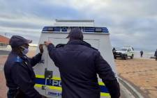 One mast pole and about 500kg of rail springs valued at an estimated R25,000 were seized by the City of Cape Town's Metal Theft Unit. Picture: Eyewitness News