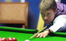 Snooker player Stephen Hendry. Picture: AFP.