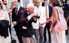 Bill Cunningham attend The Frick Collection Into The Garden 2016 Spring Garden Party For Fellows at The Frick Collection on in New York City. Picture: Nicholas Hunt/Getty Images/AFP