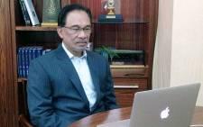 Anwar Ibrahim. Picture: @anwaribrahim/Twitter