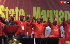The EFF elected its top six at the party's national people's assembly on 14 December. Picture: Vumani Mkhize/EWN