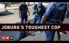 Joburg's Toughest Cop. Picture: EWN.