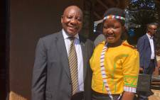 President Cyril Ramaphosa at the Balobedu Queenship celebrations on Saturday 7 April 2018. Picture: Twitter/@PresidencyZA
