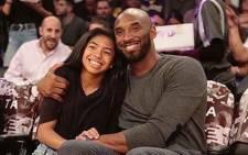 Kobe and Gianna Bryant. Picture: Instagram/vanessabryant