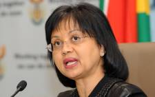 FILE: Energy Minister Tina Joemat-Pettersson (C). Picture: Supplied.