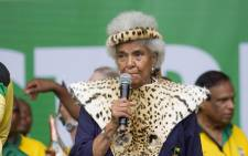 Anti-apartheid veteran Ruth Mompati. Picture: @MyANC_.