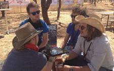 Andrea van Wyk interviews aKing at OppiKoppi Sweet Thing on Saturday 10 August 2012. Picture: Aletta Gardner/EWN