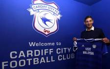 Argentina-born Emiliano Sala joined struggling Cardiff from FC Nantes earlier in January 2019. Picture: @EmilianoSala1/Twitter.
