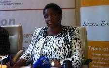 Social Development Minister Bathabile Dlamini. Picture: EWN