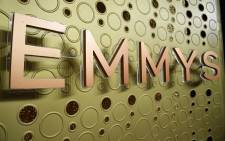 FILE: An Emmy Awards logo is pictured ahead of the 71st Emmy Awards on 21 September 2019, in Los Angeles, California. Picture: AFP