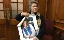 Lilian Fielden says she's not happy with the sentence handed down to her daughter's murderer Reghard Groenewald. Picture: Lauren Isaacs/EWN.