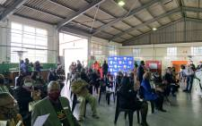 Teachers wait to get their COVID-19 vaccine shot at the Pinelands Emergency Services site on 23 June 2021. Picture: Kaylynn Palm/Eyewitness News