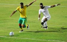Bafana Bafana during their Afcon clash with Ghana on 27 January 2015. Picture: Twitter @CAF _Online.