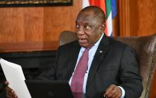 The session gives participants an opportunity to put questions to the President on matters of national importance, including South Africa's risk-adjusted strategy to limit the spread of the COVID-19 Picture: @PresidencyZA/Twitter
