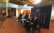 Residents gathered at a Talk Radio 702 outside broadcast in their community on 31 May 2017 to share concerns about housing and crime in their area. Picture: Masa Kekana/EWN