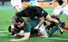 FILE. Despite pressure from the Springboks in the end, New Zealand have won the Rugby Championship.