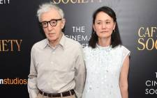 Woody Allen and Soon-Yi Previn attend the premiere of 'Cafe Society' in July 2016 in New York City. Picture: AFP.