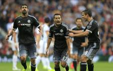 Chelseas new signing Pedro scored on his debut as the 10-man Chelsea beat West Bromwich Albion 3-2 on 23 August 2015. Picture: Chelsea/Facebook page.